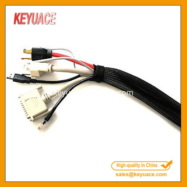 Pet Expandable Wire And Cable Braided Sleeving