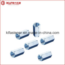 Aço inoxidável porcas de acoplamento hexagonal longo DIN 6334
