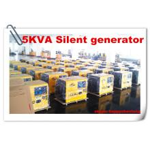 Generador diesel silencioso de Kaiao 5kw para la venta