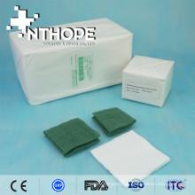 Diferentes tipos de cotonete de gaze 100% algodão: 12x18,30x12,19x15