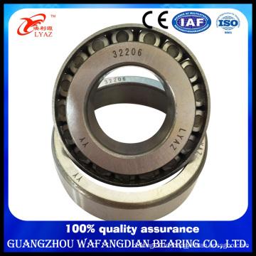 Rodamiento de rodillos de la forma cónica del proveedor de China 32206