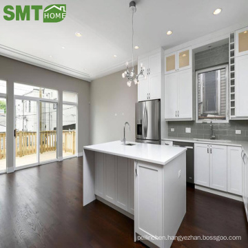 Modern cheap simple wood kitchen cabinet designs