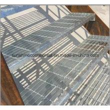 Industrielle Meatal vorgefertigten Stahl Treppe verwendet