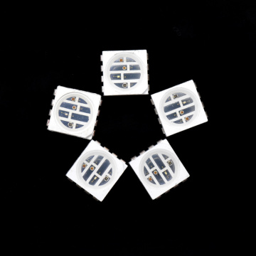 5050 smd 4 chips 850nm 660nm 530nm 470nm LED