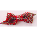 Bowknot Fabric Hotfix Rhinestone Flower Shoe Ornements