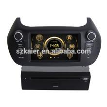 Em traço dual core estremecer multimídia central do carro HD para Fiat Fiorino com GPS / 3G / Bluetooth / TV / IPOD / RDS