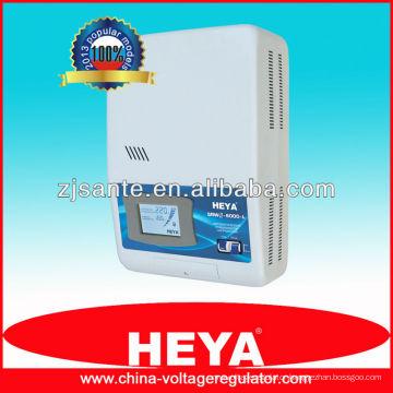 SRWII-6000-L LCD display mounted relay control voltage regulator