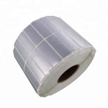 Argent mat Etanche Polyester Silver Label bacode PET
