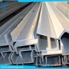 Aisi 304 aço inoxidável canal bar fornecedores na China   Channel aço inoxidável soldagem de aço