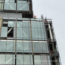 Aluminum Glass Stick Built Frame Curtain Wall Exposed Hidden Capped Spandrel Unitized Facade System Building Design Price
