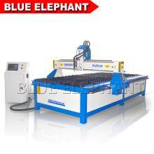 China máquina profesional del CNC, máquina de corte del metal del plasma del CNC 1530