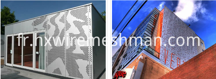 application perforated metal