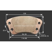 Bronze clutch button