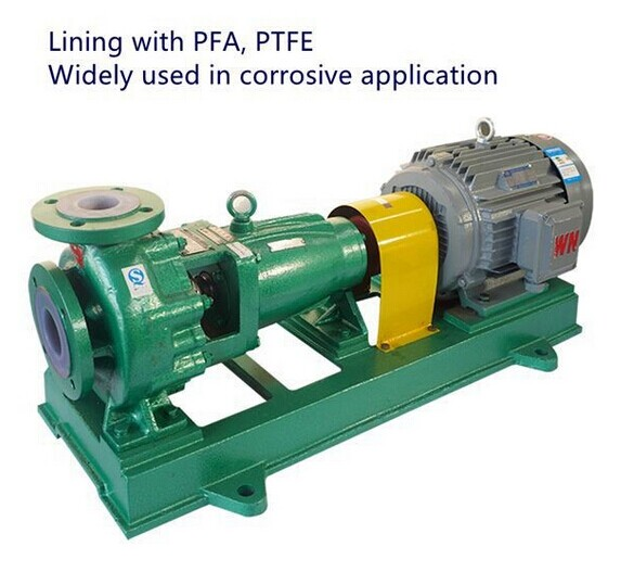 IHF PUMP LINING WITH FPTE