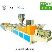 Chaîne de production de tuiles ondulées composées de mousse d'ASA / machine