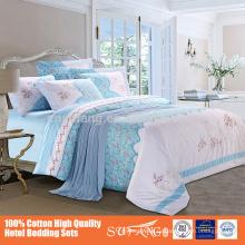яркий цвет печать 100% хлопок постельных принадлежностей 4шт по оптовой цене