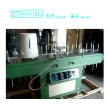 TM-F4 balde garrafa fogo automático máquina chama tratamento