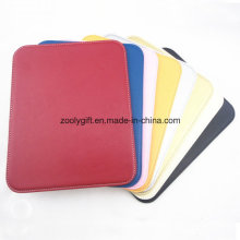 Cheap PU Leather Mouse Pad / Assorted Color Promotional Writing Pad