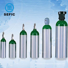 SEFIC Gas cylinder Aluminum Oxygen Cylinder Medical oxygen cylinder