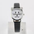 Relógio de pulso animal de aço inoxidável de volta