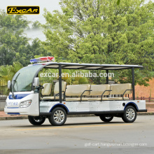 EXCAR 11 seater electric sightseeing bus elctric tour bus china city shuttle bus