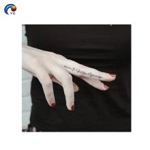 Мини-временный стикер тела татуировки с водонепроницаемый печать