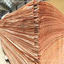 African Gabon Factory Directly Low Rate Cheap Price Natural Okoume/Okume Face Veneer
