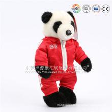 Custom cartoon figure kung fu panda soft toys