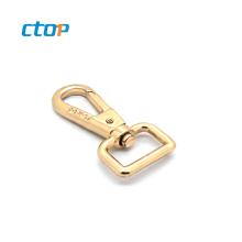 Wholesale lanyard metal carry straps with rose gold swivel snap hook snap hook metal bag hook
