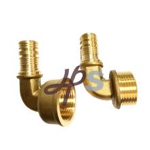 латунь ввертное колено трубы PEX и латунные трубы PEX сторона