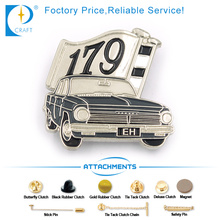 Eh 179 Car Intech Products Pin Badge en style ancien
