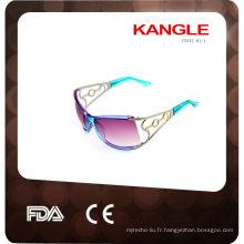 2014 lunettes de soleil en plastique glitter party