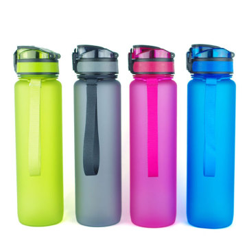 Custom High Quality 1000ml Gradient Sport Portable Water Bottle