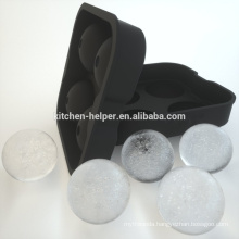 Silicone ice cube tray ice cube maker black silicone ice ball mold