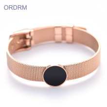Rvs Rose Gold Bangle Bracelet Wholesale