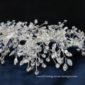 New design crystal flower wedding hair accessories bridal  jewelry