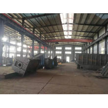 Fabricação de soldagem de metal resistente, estrutura de aço