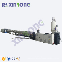 Best quality solid wall plastic pe pipe manufacturing line plastic hdpe pipe machine