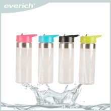 2015 botella de agua reutilizable del vidrio de los niños de los nuevos productos