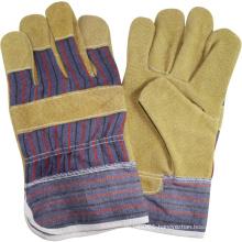 NMSAFETY en388 leather welding working gloves