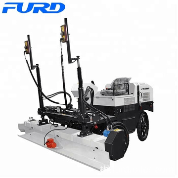 Chinese hydraulic pump laser screed with six-wheel (FJZP-200)