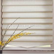 Roman shade curtain