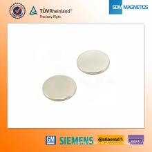Imán de neodimio N42 D25 * 2 mm