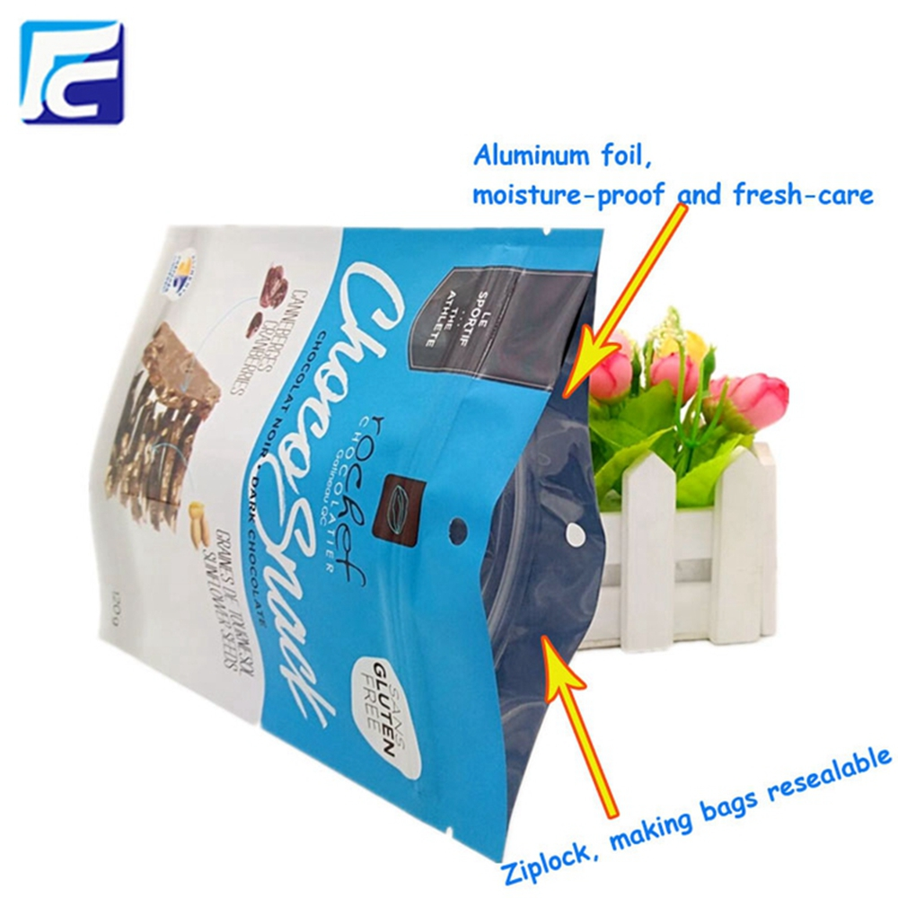 plastic dried food packaging bag