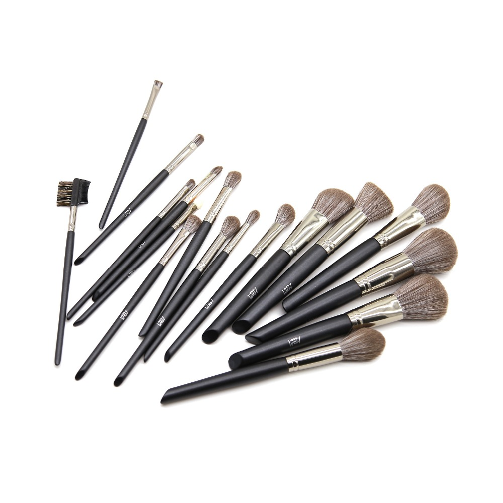 14 Pcs Black Makeup Brush Set 3