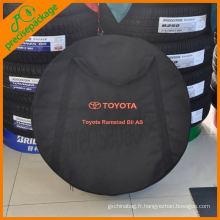 4wd offorad accessories Couverture de pneu de secours oxford / en acier inoxydable