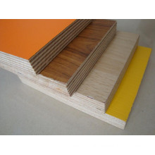 18mm melamine plywood with wood grain / solid color