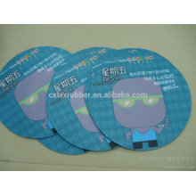 round rubber coaster, round fabric coasters