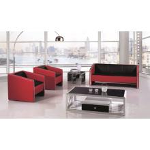 Le rouge et le noir a trié le nouveau modèle de sofa de modèle de couleurs