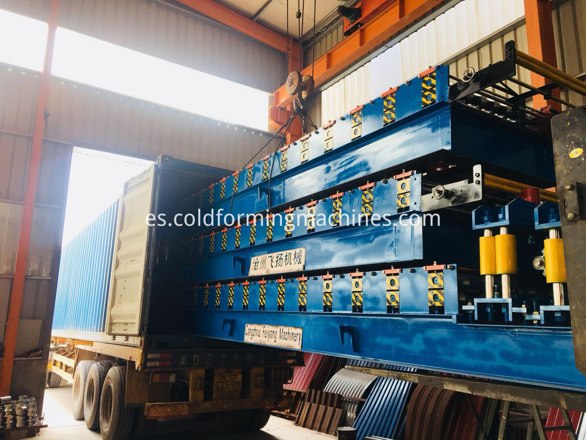 Loading Corrugated Machine